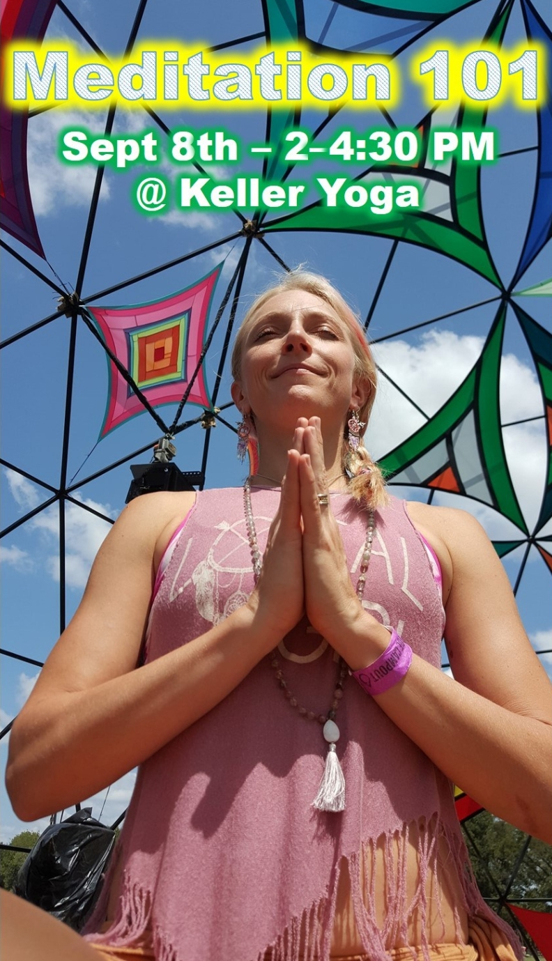 Meditation 101 flier