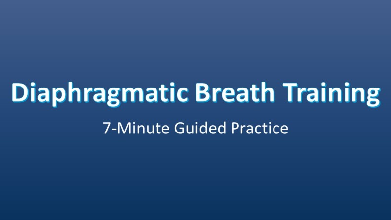 Diaphramatic Breath